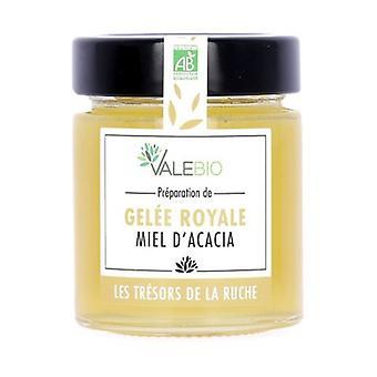 Miód i ekologiczne mleczko pszczele świeże 170 g
