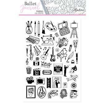 Aladine Bullet Journal Foam Stamps Hobbies
