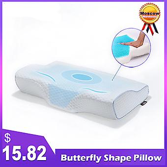 Purenlatex Orthopedic Memory Foam Gel Contour Pillow For Neck Pain  Side Back And Stomach Sleepers