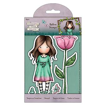 Gorjuss Rubber Stamps Thumbelina (4pcs) (GOR 907166)