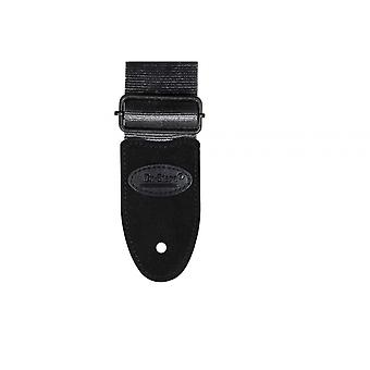 GSA20GR, Sangle de guitare ceinture de sécurité (Gris)