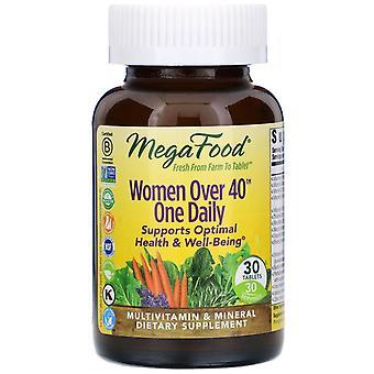 MegaFood, Vrouwen ouder dan 40 One Daily, 30 tabletten