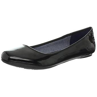 Dr. Scholl's Womens FRIENDLY Fabric Closed Toe Ballet Flats