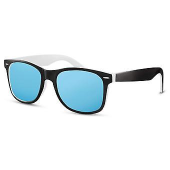 نظارات شمسية رجال الرجال المسافرين الأسود والأبيض / الأزرق (CWI2500)