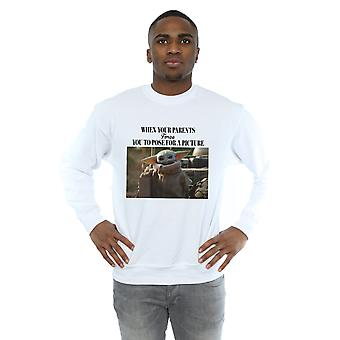 Star Wars Men's The Mandalorian Force Picture Sweatshirt