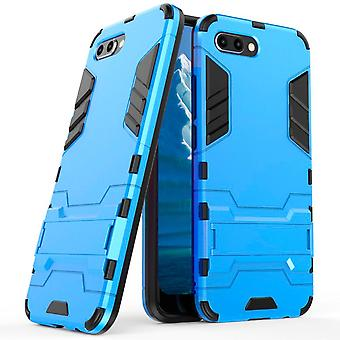 Shell for Huawei Honor 10 Blue Space Armor Hard Plastic Protection Case