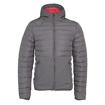 LUKE 1977 Grey Bubbla Puffer Jacket