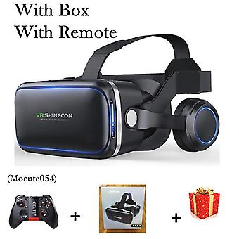 6.0 Casque Vr Virtual Reality Brille 3d Brille Headset Helm für Smartphone