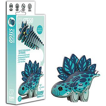 Eugy 3D Stego Dinosaur Modèle Craft Kit