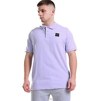 Marshall Artist Mens Siren Polo Shirt - Lilac