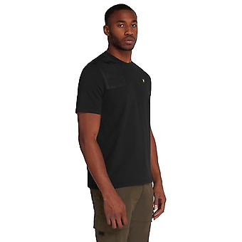Lyle & Scott Applique Logo T-Shirt - Jet Black