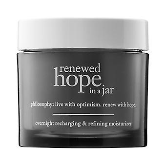 Philosophy Renewed Hope In A Jar Overnight Recharging & Refining Moisturizer 2oz / 60ml