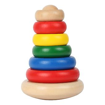 Legler Small Foot World Wobble Pyramid Wooden Kid's Toy (7156)
