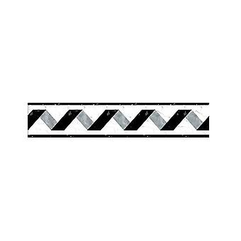 Stripe Baseboard Waist Line Decor Wall Stickers- Home Decor Kitchen / Bathroom