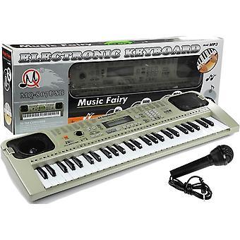 Leksakstangentbord med USB-ingång - Mikrofon ingår