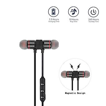 Wireless Bluetooth Earphone Handsfree Neckband Magnetic Headset Stereo Sport Music With Mic For All Smart Phone