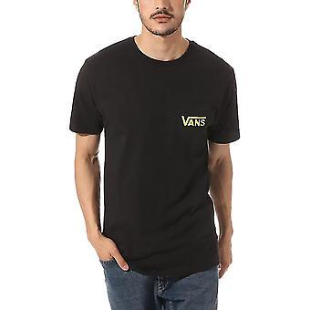Vans OTW Classic T-Shirt - Black / Sulphur Spring