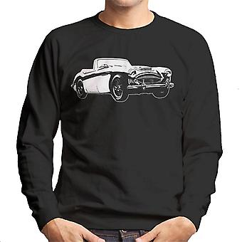 Austin Healey 3000 British Motor Heritage Men's Sweatshirt