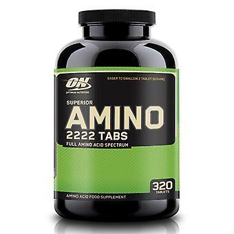 Optimum Nutrition Superior Amino 2222 Tabs Supplément