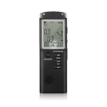 Usb 8gb/16gb/32gb Digital Audio Voice Recorder- Usb Professional 96 Hours Dictaphone Voice Recorder With Wav Mp3 Player