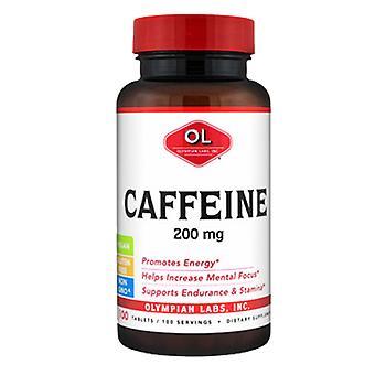 Olympian Labs Caffeine, 200 mg, 100 Tabs