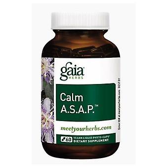 Gaia Herbs Calm A.S.A.P., 60 Caps