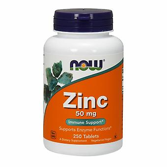 Теперь продукты цинк, 50 мг, 250 таб