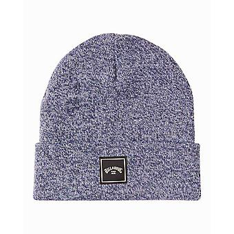 Billabong Knitted Cuff Beanie ~ Stacked navy heather