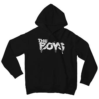 The Boys Text Logo White Men-apos;s Pullover Hoodie | Marchandises officielles