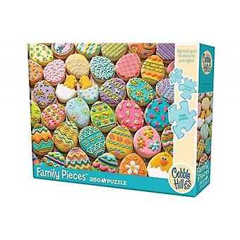 Cobble hill puzzle - easter cookies - 350 pc