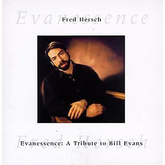 Fred Hersch - Evanessence [CD] USA import