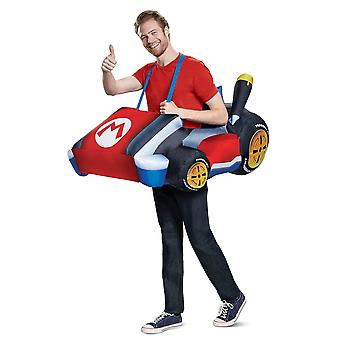 Men's Mario Kart Inflatable Costume