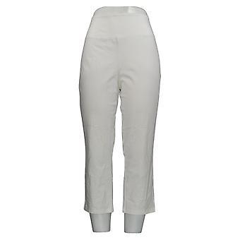 Vrouwen met Control Leggings Stretch Pull On WhiteA307763