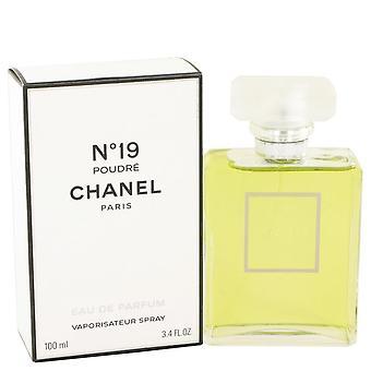 Chanel 19 eau de parfum spray by chanel 100 ml