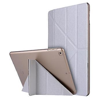 Case Ultra-thin smart folio case for Apple iPad 4/3/2 silver