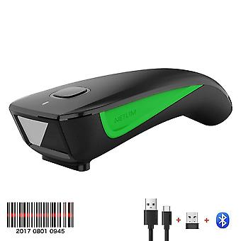 Wired 2d Barcode Scanner And C750 Wireless Bluetooth Qr Bar Code Reader