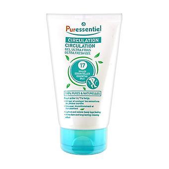 Ultra fresh circulation gel 125 ml of gel