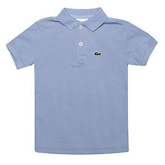 gutt&s lacoste spedbarn polo skjorte i blått