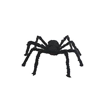 Jouet rouge d'araignée de peluche d'yeux