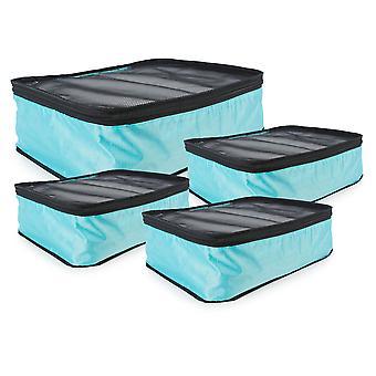 Dii 4-Piece Travel Organizer Cube Set Azul