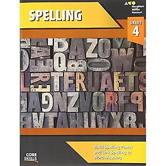 Steck-Vaughn Kjerne ferdigheter Staving: Arbeidsbok Grade 4 (Steck-Vaughn Core Skills Spelling)