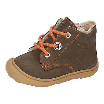 RICOSTA Fluffy Lined Short Boot Khaki
