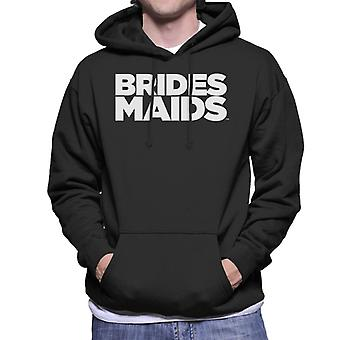 Bridesmaids Logo Bold Men's Hooded Sweatshirt