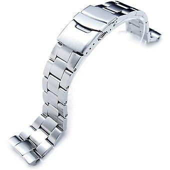 MiLTAT 22mm Watch Band for Seiko Turtle SRP773 SRPE05 SRP779 SRPA21, Super-O Screw-Link