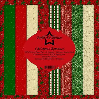 Paper Favourites Christmas Romance 12x12 Inch Paper Pack
