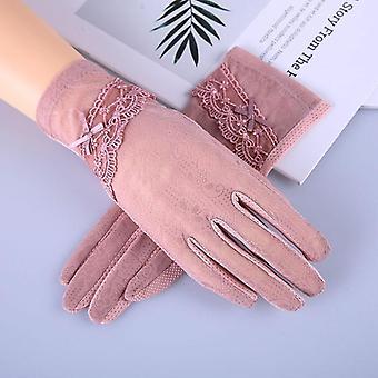 Women's Summer Driving Gloves, Non-slip, Block Uv, Touch Screen Cotton