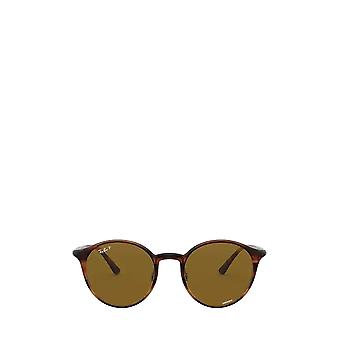 Ray-Ban RB4336CH striped red havana unisex sunglasses