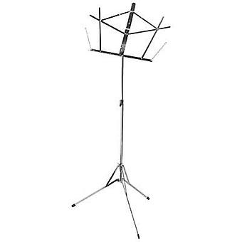 Compact Sheet Music Stand (Nickel, Avec Sac)