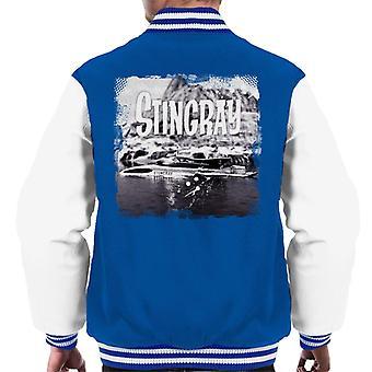 Stingray Submarine Vintage Camera Shot Men's Varsity Jacket