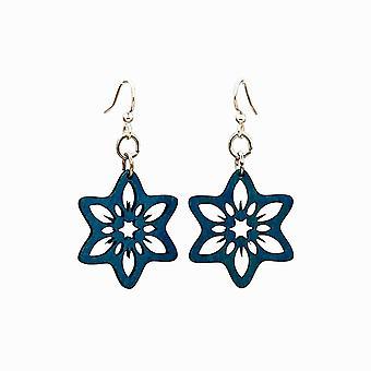 Snowflake Flower Earrings
